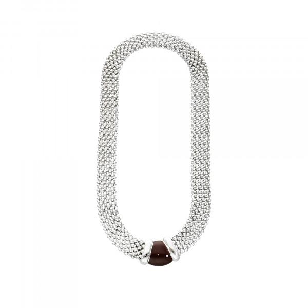 Collier Metalll braun mit Magnetverschluss