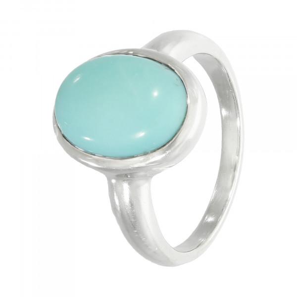 Ring 925 Silber mit Stein türkis