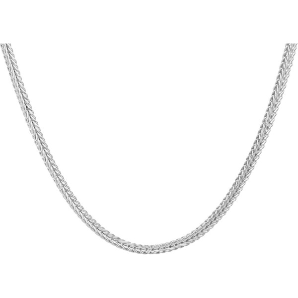 """Kette 925 Silber """"Fuchsschwanzmuster"""" 45 cm"""