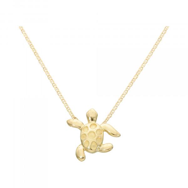 """Collier 750 Gelbgold 40 cm """"Schildkröte"""""""