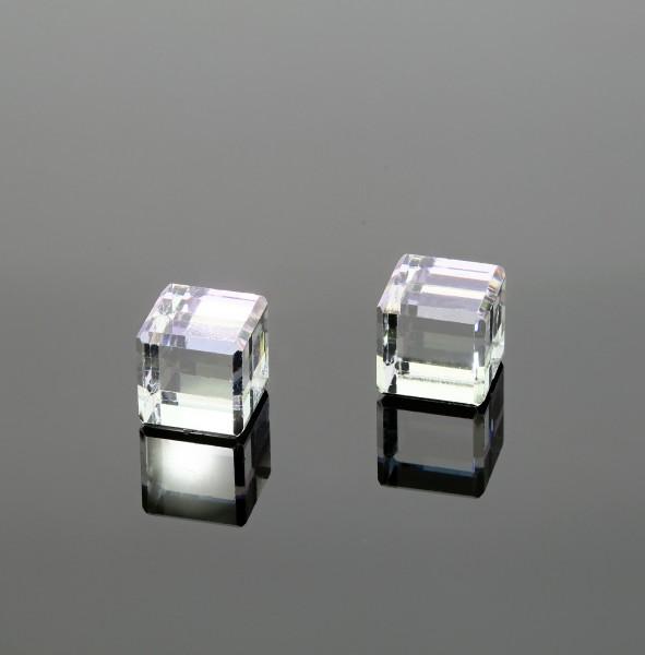 Kristall-Figur Würfel