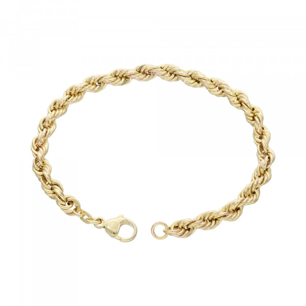 Armband 585 Gelbgold 18,5 cm