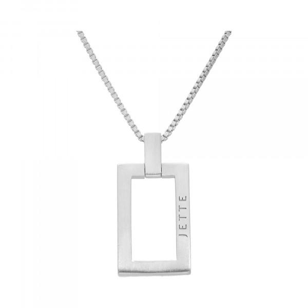 """Kette Silber 925 Venezia 42 – 45 cm mit Anhänger """"Jette"""""""