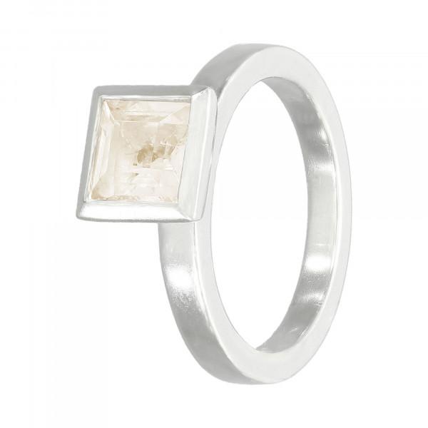 Ring 925 Silber mit Lemon-Quarz