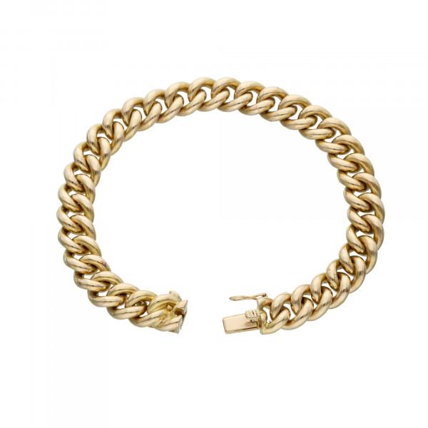 Armband 14 Karat Gelbgold 18 cm