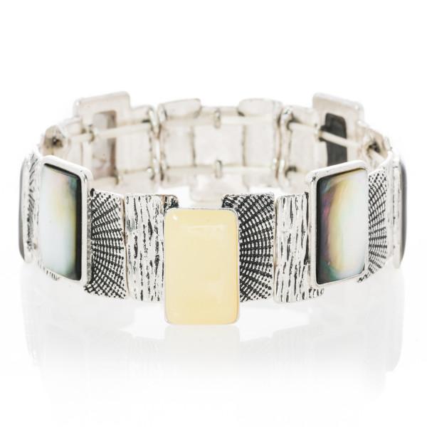 Armband Stretch Metall im 70er-Look