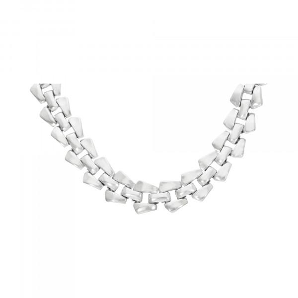 Kette/Collier Silber 950 Fantasie 45 cm