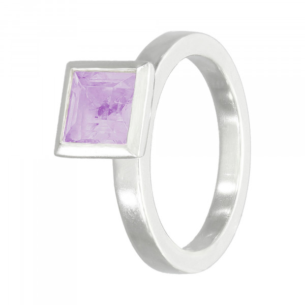 Ring 925 Silber mit Amethyst