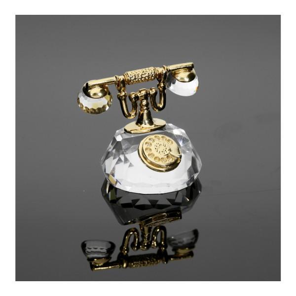 Swarovski Kristall-Figur Telefon