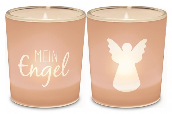 """Teelichthalter """"Mein Engel"""""""