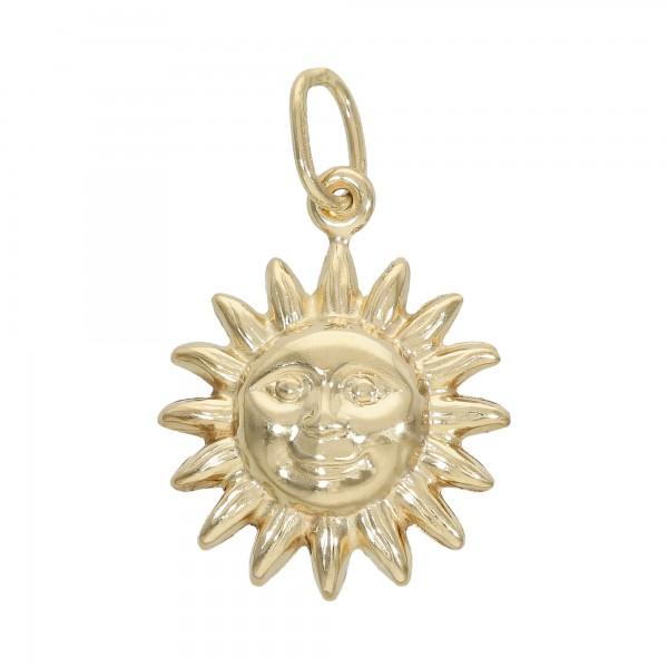 """Anhänger Gelbgold 585 """"Sonne"""""""