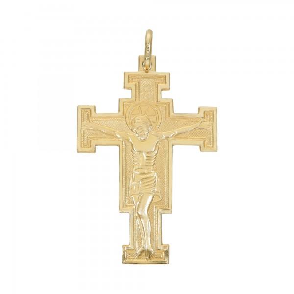 """Anhänger Gelbgold 750 """"Kreuz"""""""