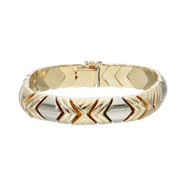 Armband 585 bicolor 20 cm