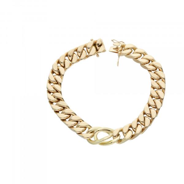 Armband 585 Gelbgold 22 cm