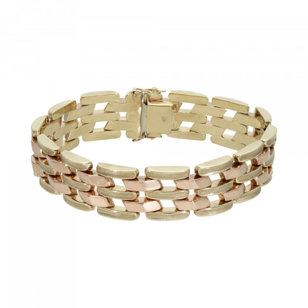 Armband 333 bicolor 19 cm