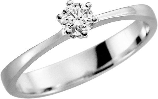 Rubin Solitär-Ring Silber 925 mit 1 Brillant 0,08 ct.