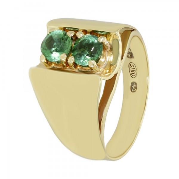 Ring 585 Gelbgold mit Turmalin