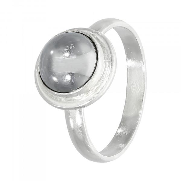 Ring 925 Silber mit Hämatit