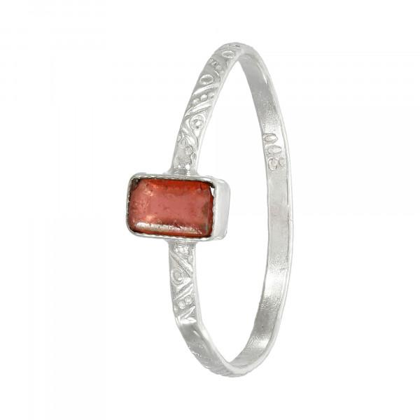 Ring 800 Silber mit Stein alt