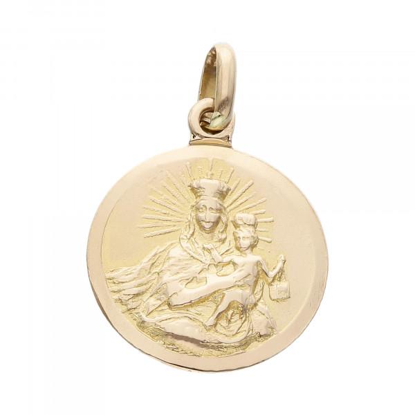 """Anhänger 750 Gelbgold """"Maria mit Kind & Jesus"""""""