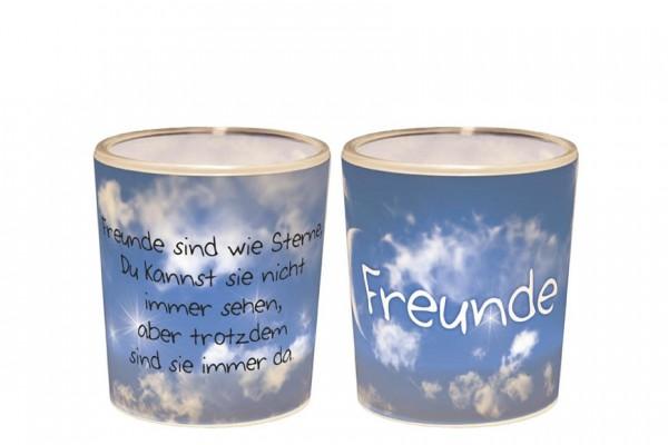 """Teelichthalter """"Freunde"""""""
