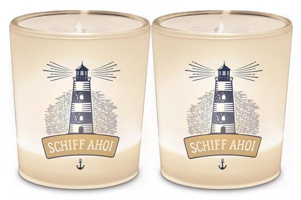 """Teelichthalter """"Schiff Ahoi"""""""